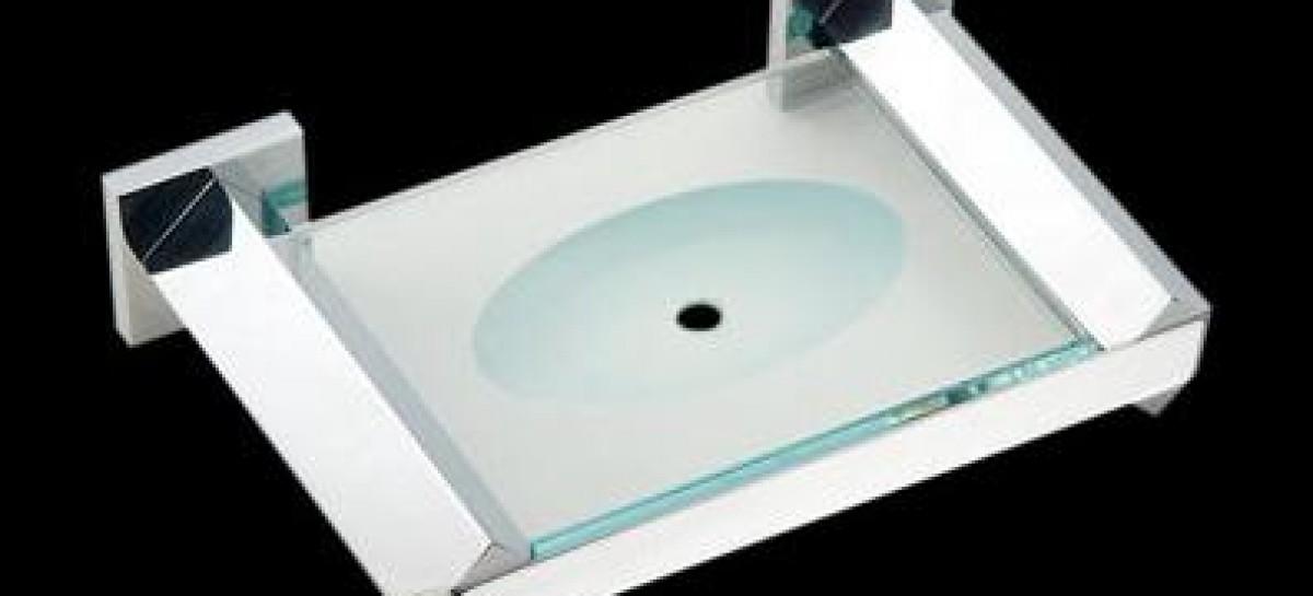 Acessórios de alumínio no banheiro  Reforma Fácil -> Acessorios Para Banheiro Com Banheira